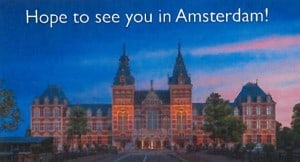 AMC hope to see you in Amsterdam